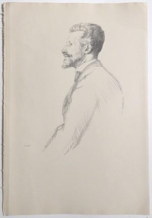 William Rothenstein lithograph R