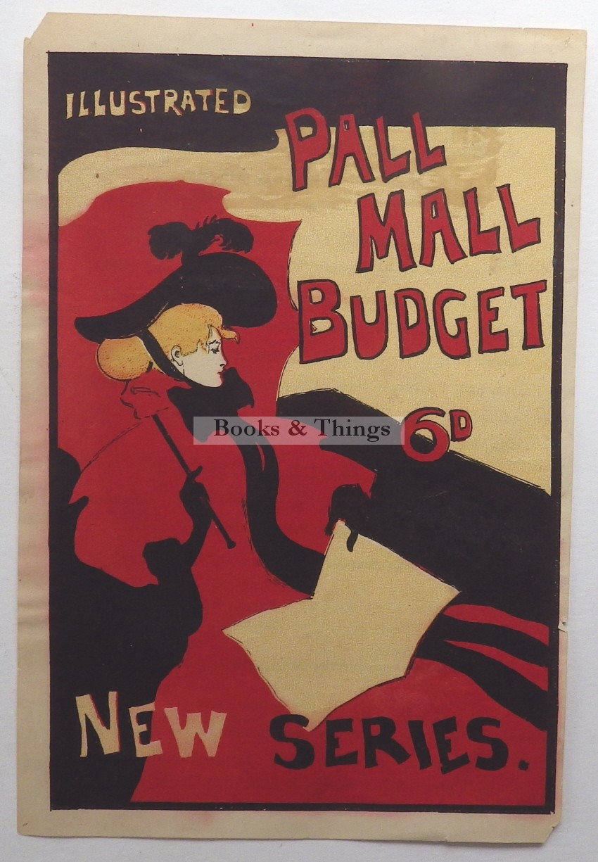 Maurice Greiffenhagen Pall Mall Budget label