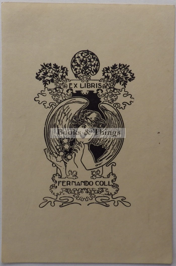 Alexandre de Riquer bookplate