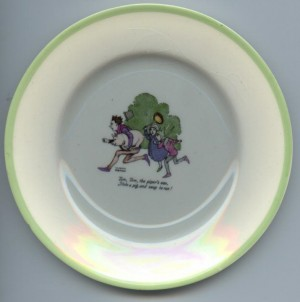 W Heath Robinson plate