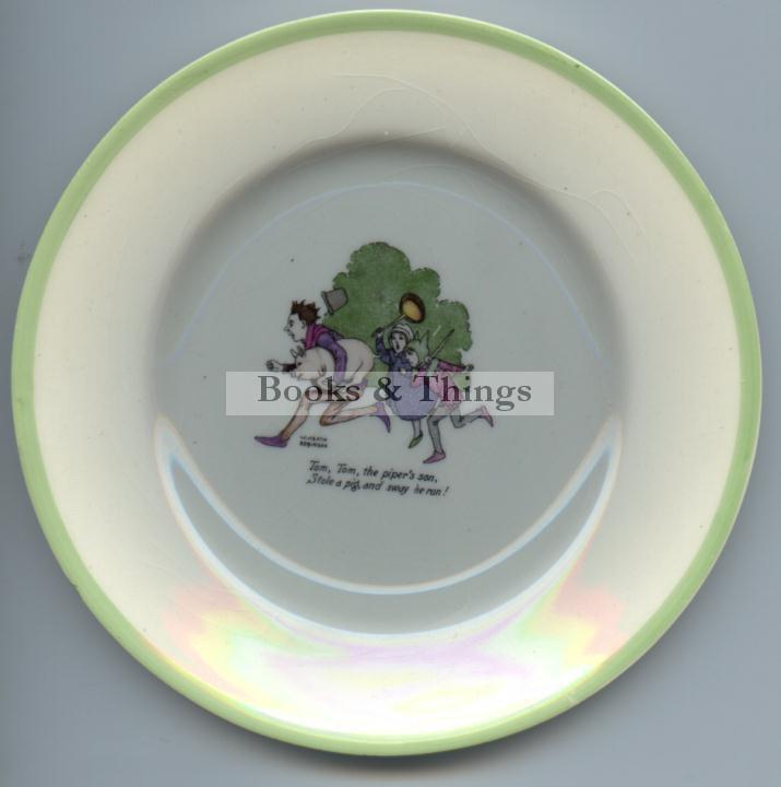 W Heath Robinson plate