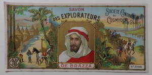 Savon des Explorateurs label
