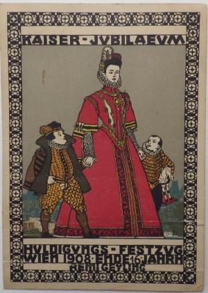 Remi Geyling Vienna Wekstatte postcard 1908