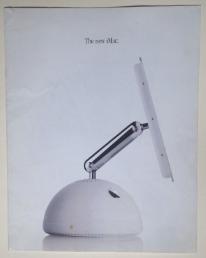 Apple imac G4 brochure