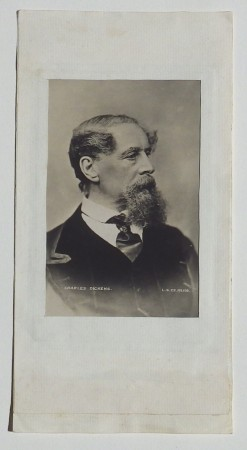 Charles Dickens photograph