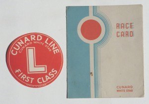 Cunard ephemera