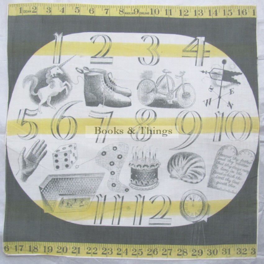 Eric Ravilious Child's Handkerchief