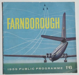 Farnborough Air Show programme