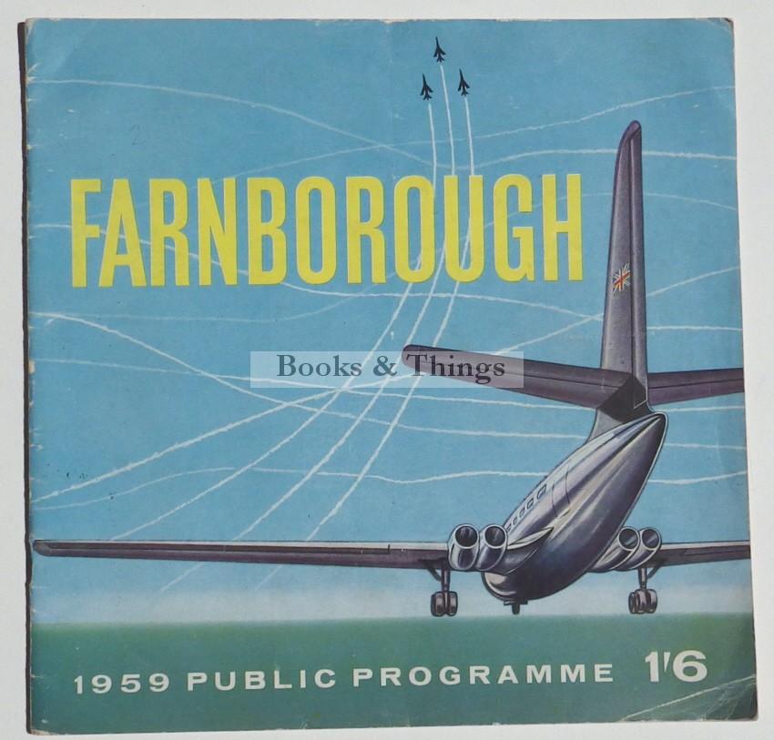 Farnborough Air Show programme