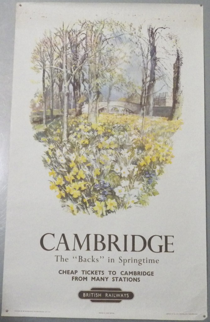 Raymond T Cowern poster Cambridge