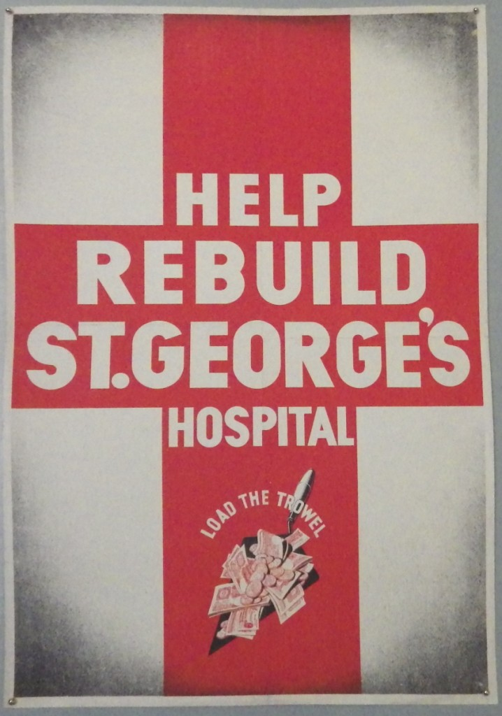 St George's Hospital poster