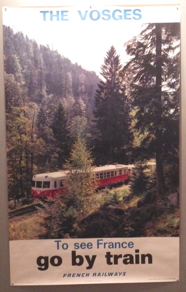 The Vosges Go by Train poster
