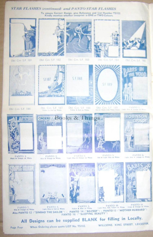 Willsona stock poster catalogue