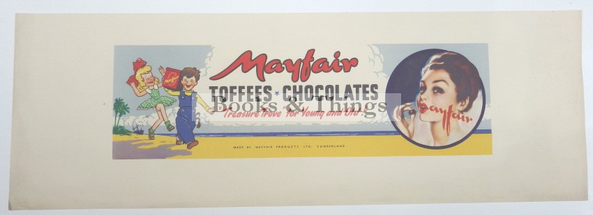 Mayfair Toffees poster