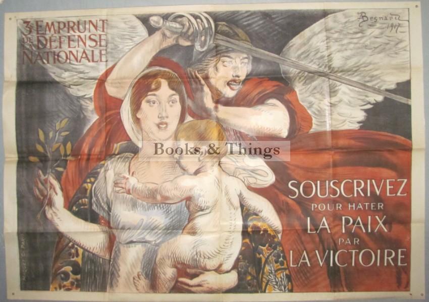 Albert Besnard poster La Victoire