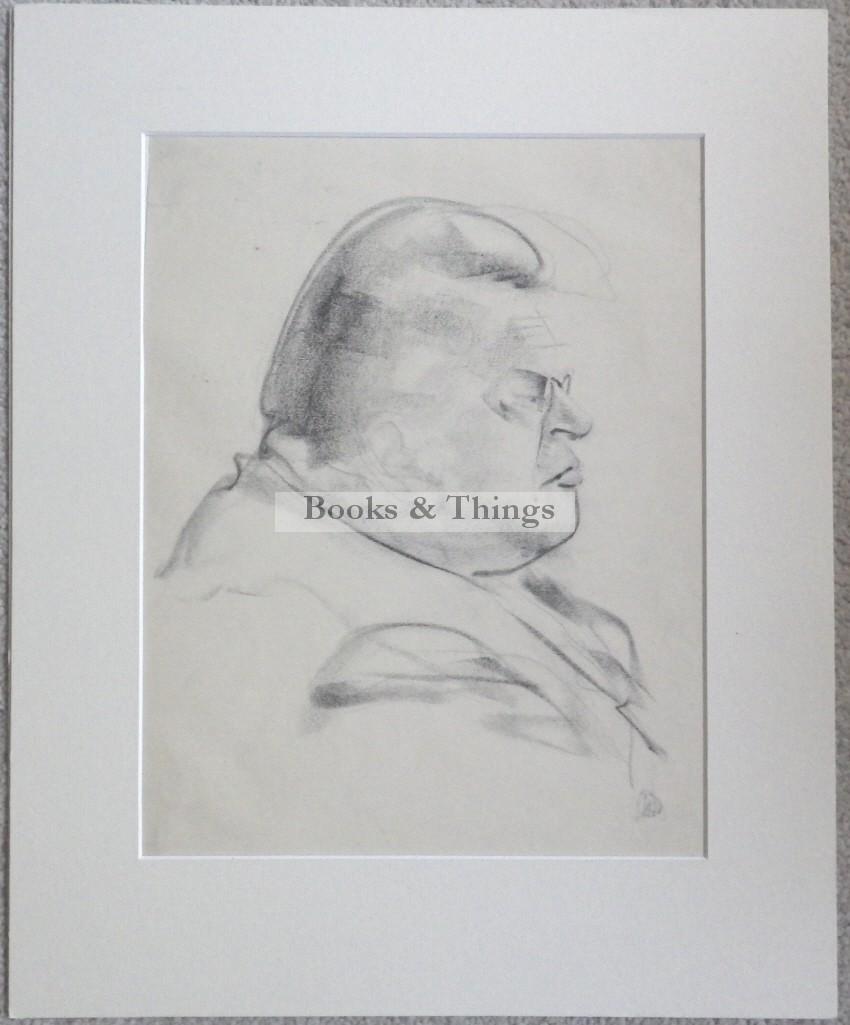 Edmond Xavier Kapp drawing