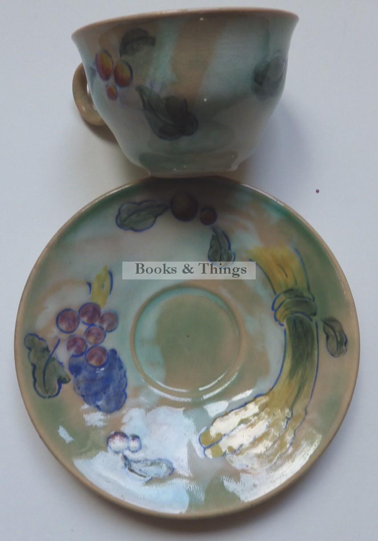 Frank Brangwyn cup & saucer Royal Doulton