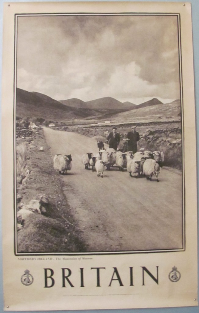 Britain poster Mountains of Mourne