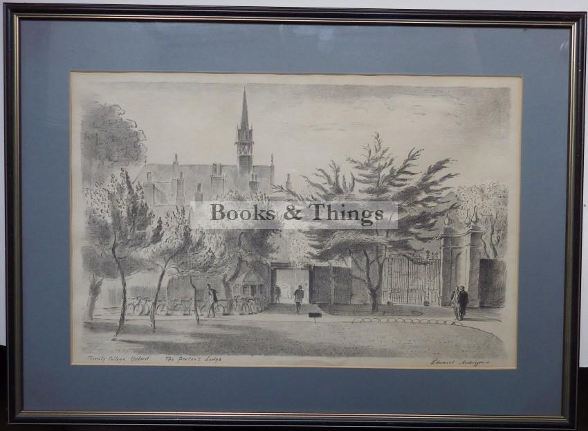 edward ardizzone porters lodge lithograph
