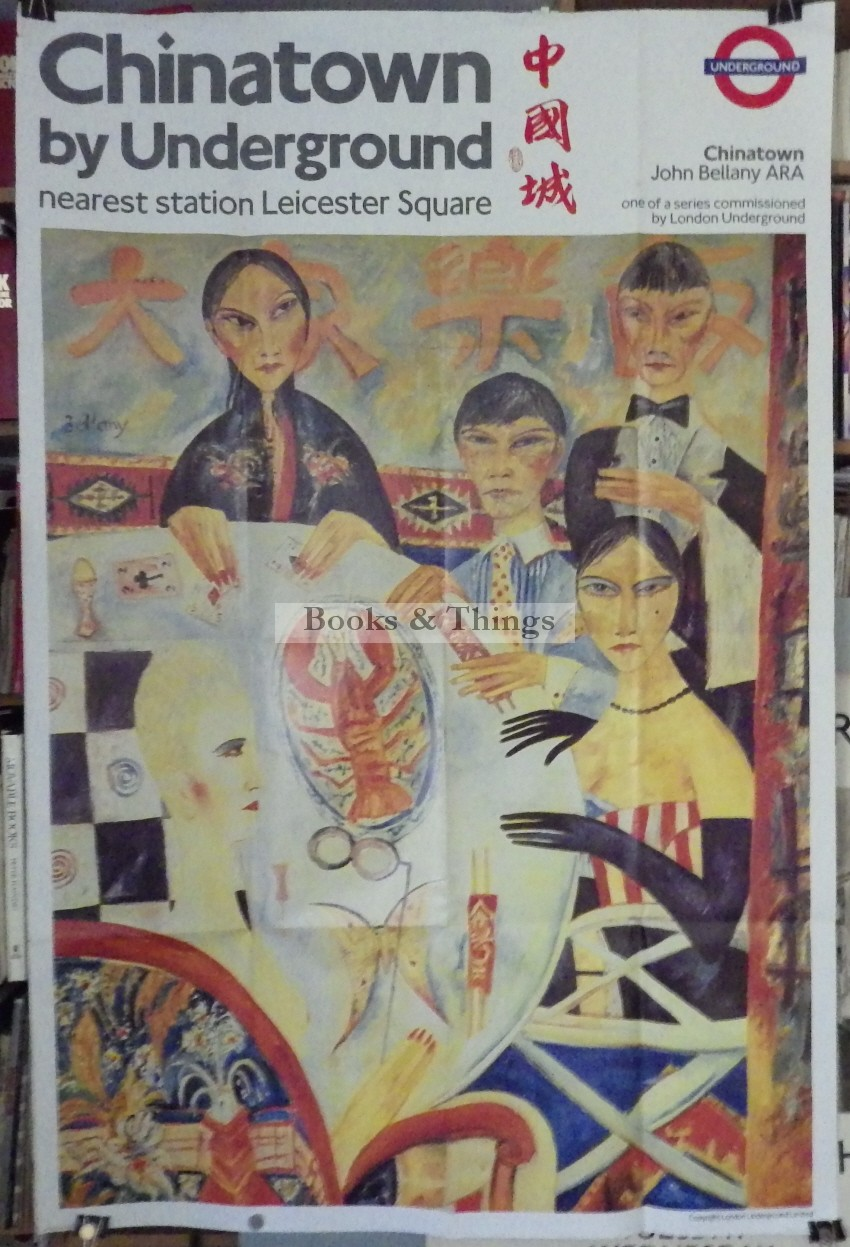John Bellany poster Chinatown