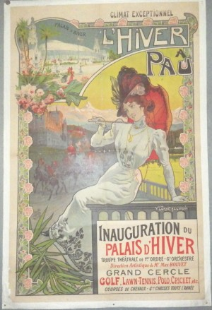 Vincent Lorant-Heilbronn poster Pau