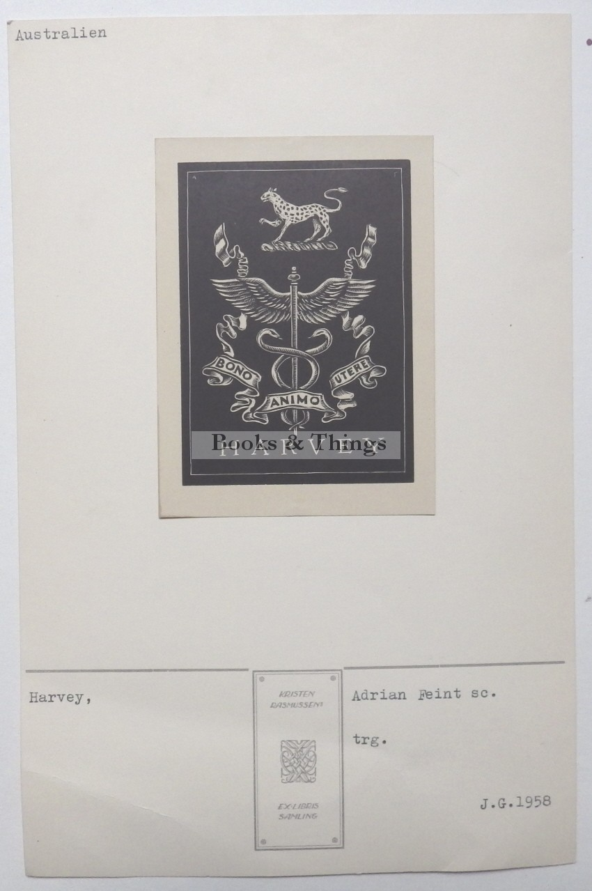 Adrian Feint bookplate
