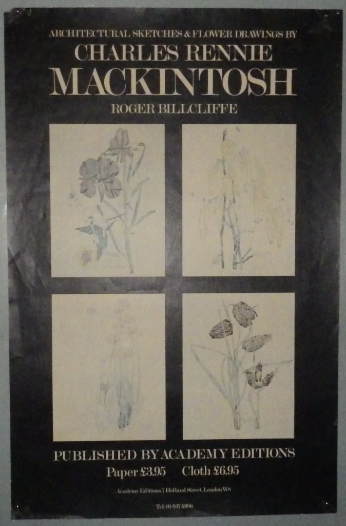Charles Rennie Mackintosh poster