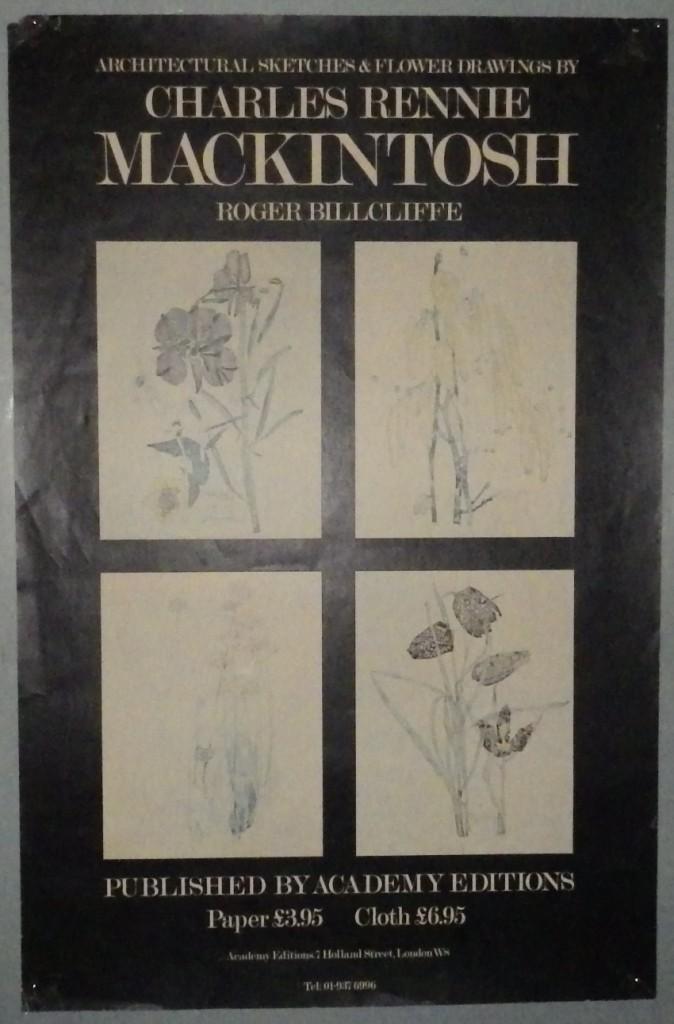 Charles Rennie Mackintosh poster