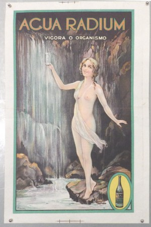 Ryder Agua Radium drink poster