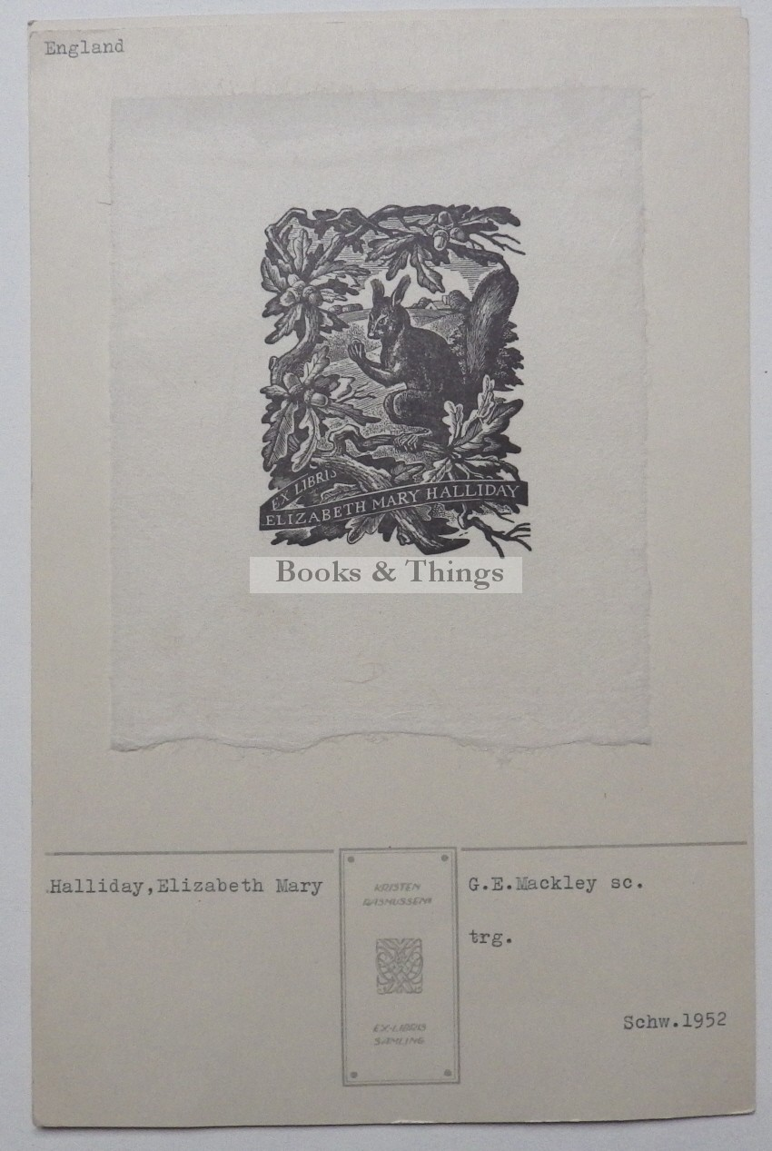 George Mackley bookplate