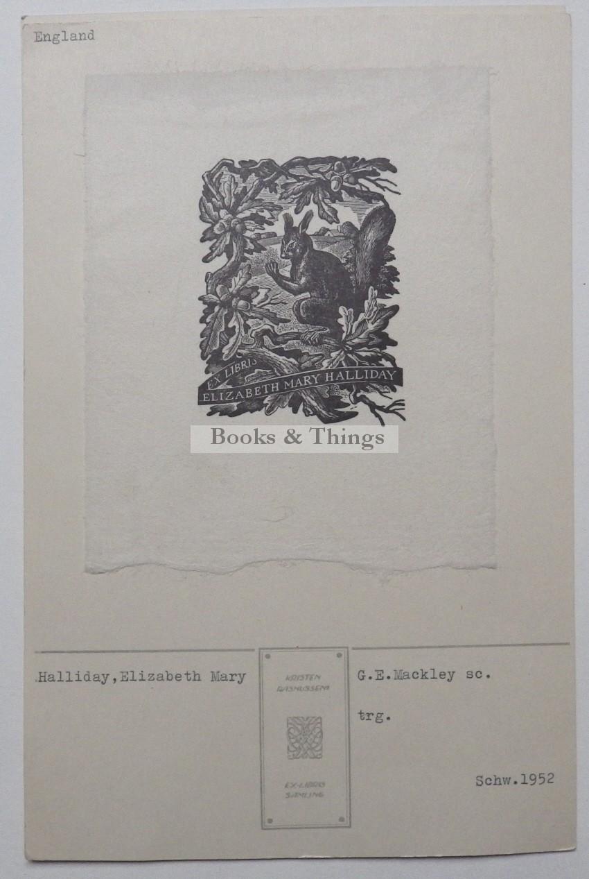 George Mackley bookplate