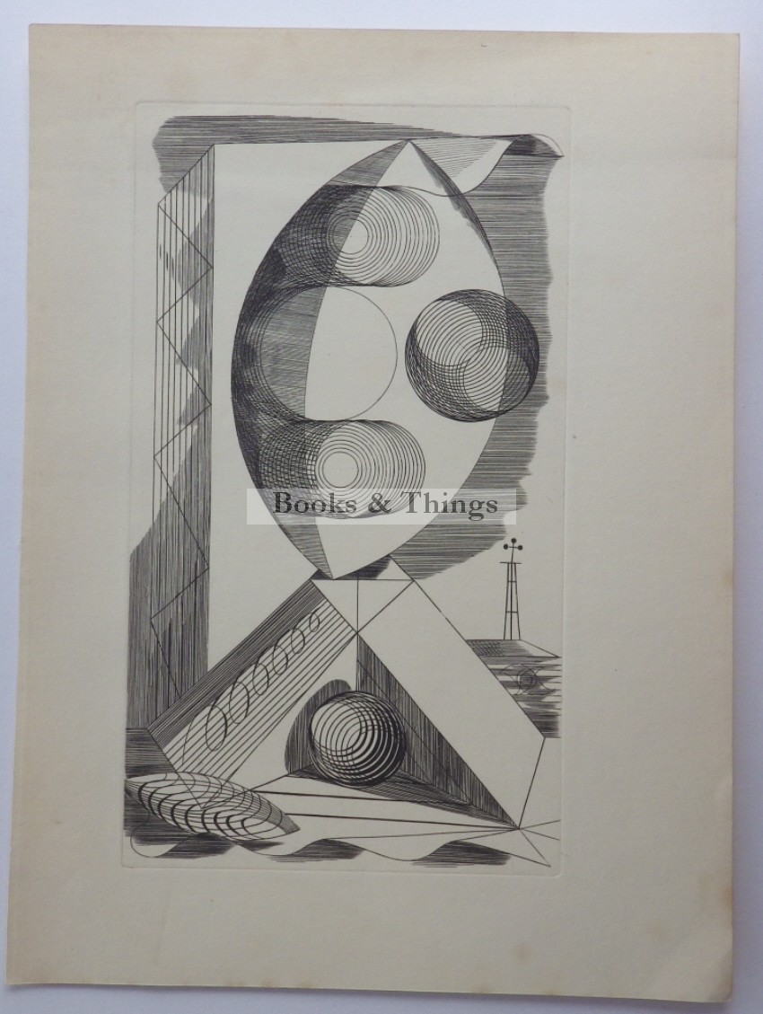 Edward Bawden etching