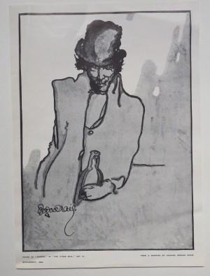 Edward Gordon Craig print Dubosc