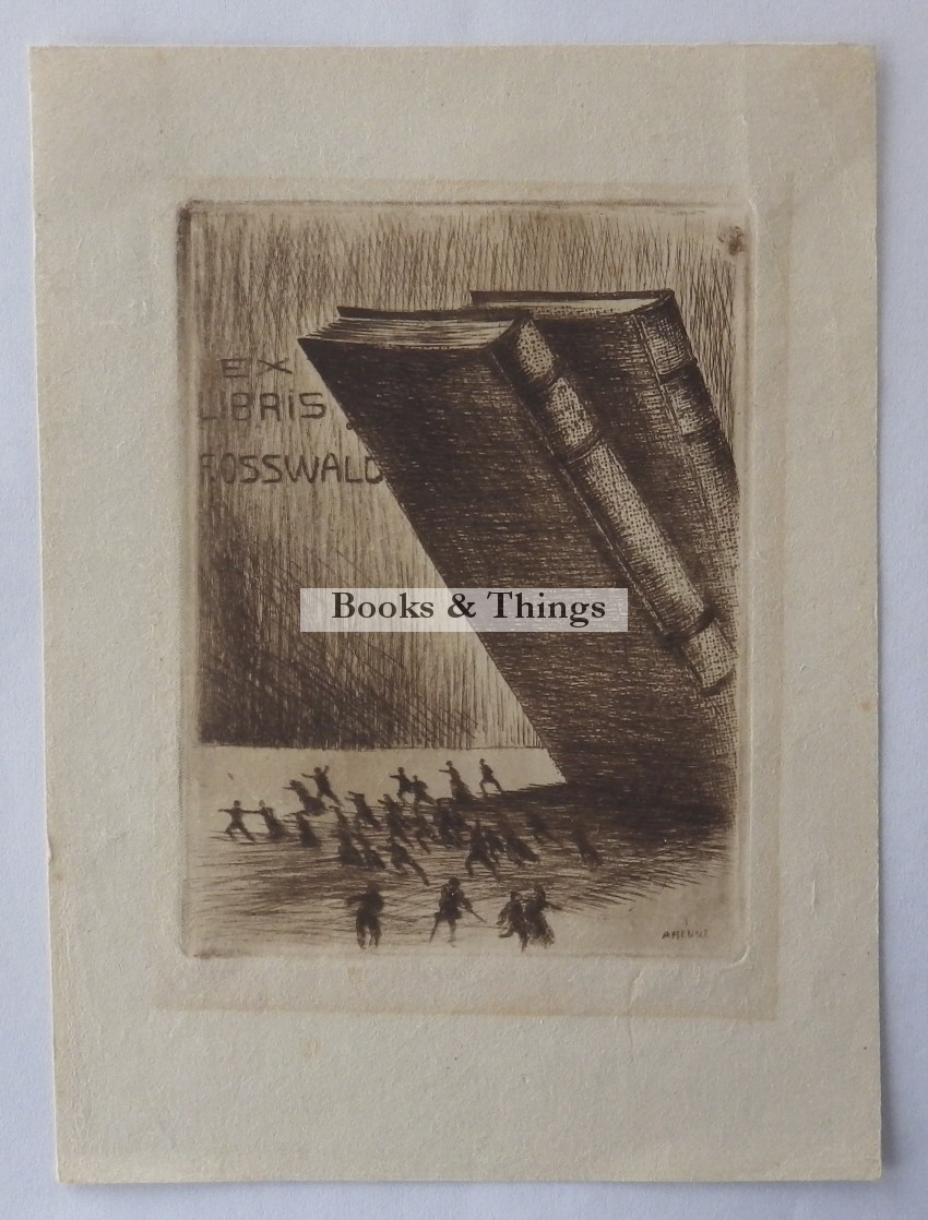 Artur Henne bookplate