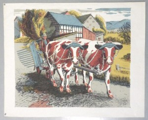 James Cresser Tarr lithograph