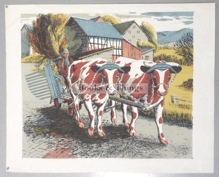 James Cresser Tarr lithograph