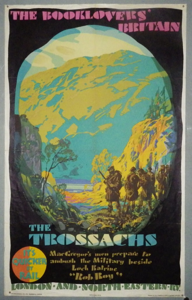 Austin Cooper poster The Trossachs