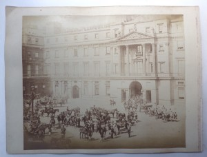 Buckingham Palace Courtyard photograph