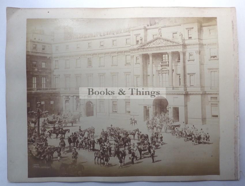 Buckingham Palace Courtyard photograph