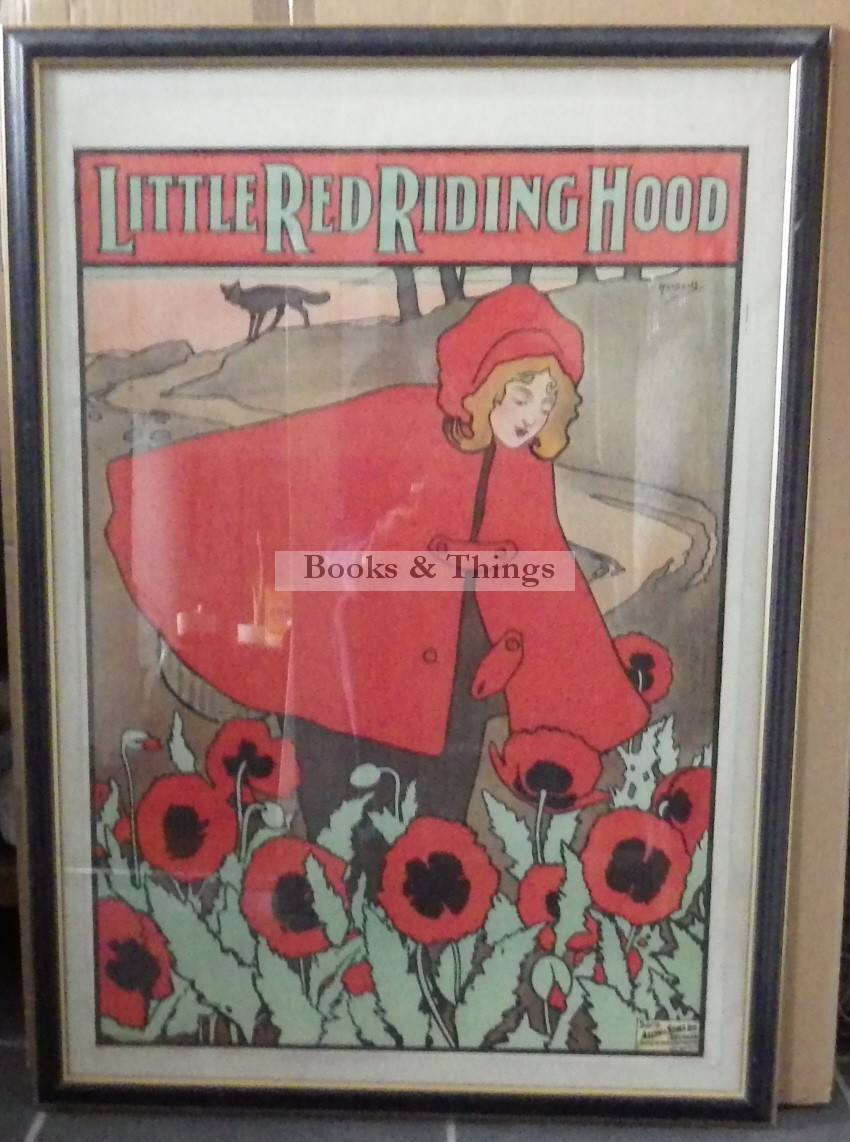 John Hassall poster Little Red Riding Hood