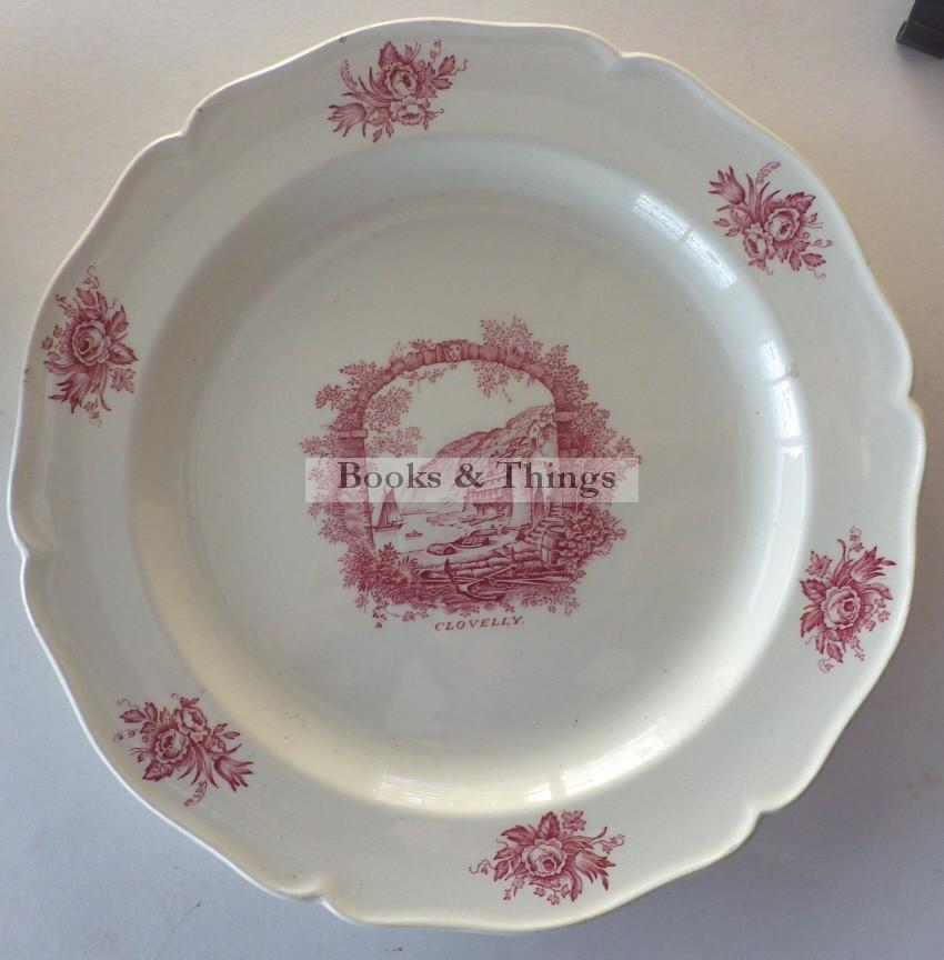 Rex Whistler Wedgwood Clovelly plate