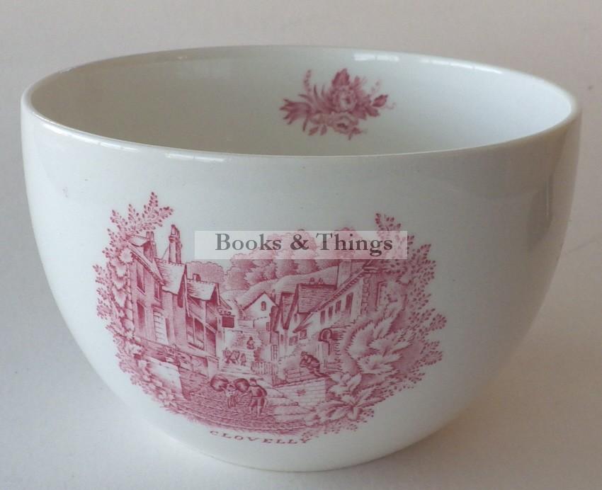 Rex Whistler Wedgwood Clovelly sugar bowl