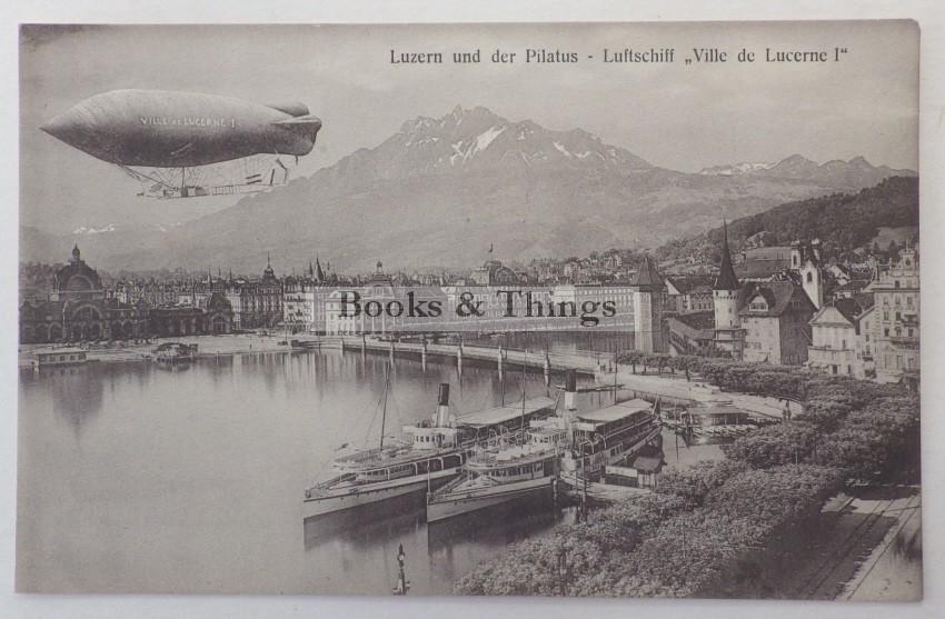 Zeppelin above Lucerne
