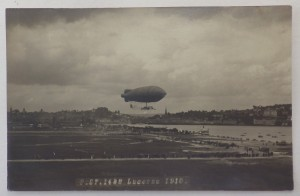 Zeppelin over Lucerne