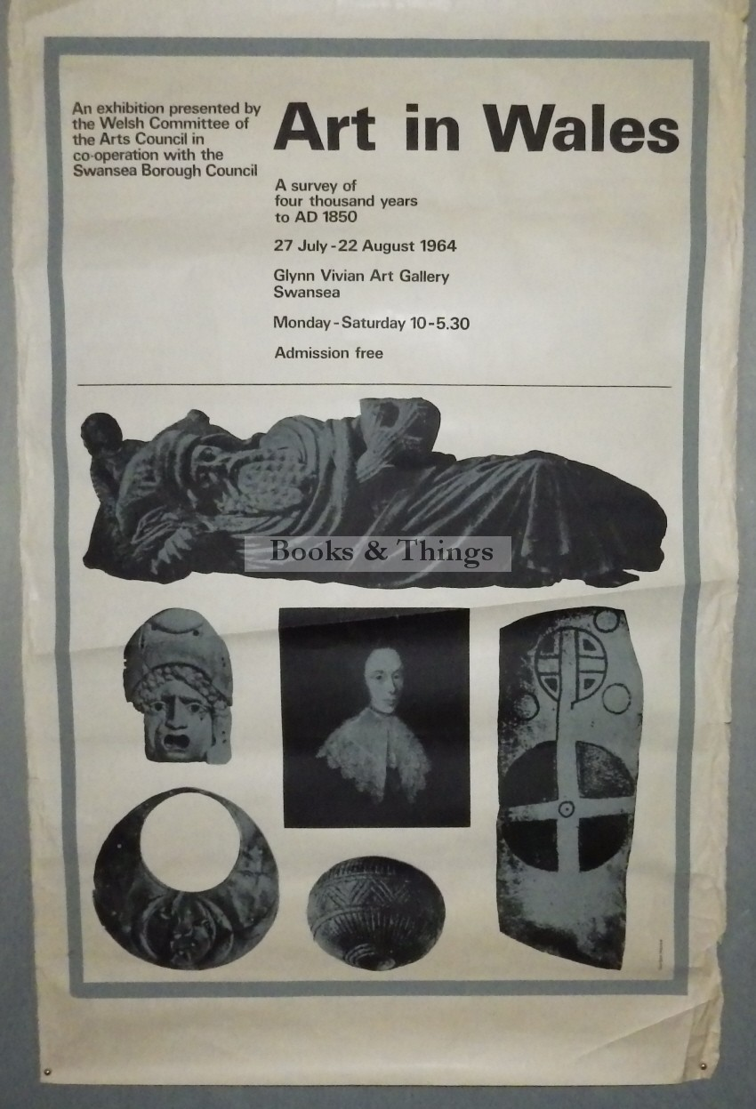 Art in Wales exhibition poster