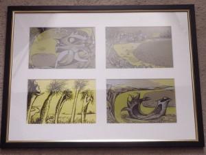 John Craxton lithographs