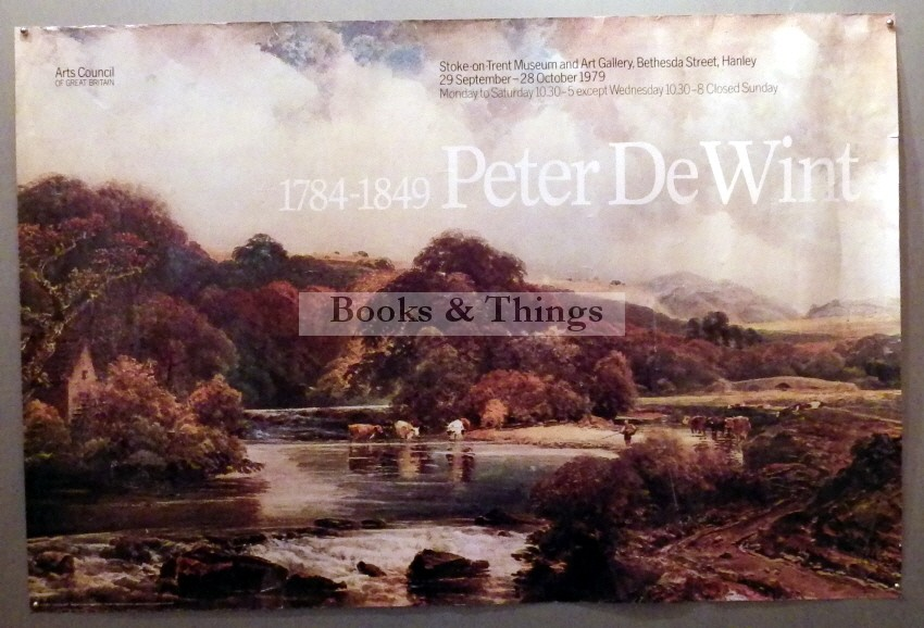 Peter de Wint exhibition poster