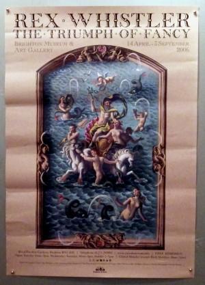 Rex Whistler exhibition poster