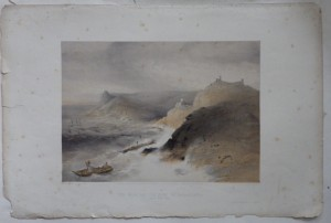 The Gale of the Coast of Balaklava lithograph