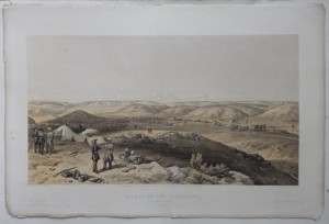 Valley of the Tchernaya lithograph